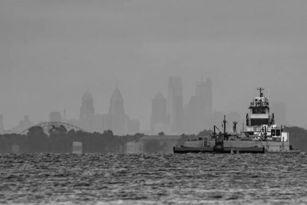 Where to shoot photos of Philadelphia's Skyline: Neshaminy State Park