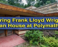 Touring Frank Lloyd Wright's Duncan House at Polymath Park