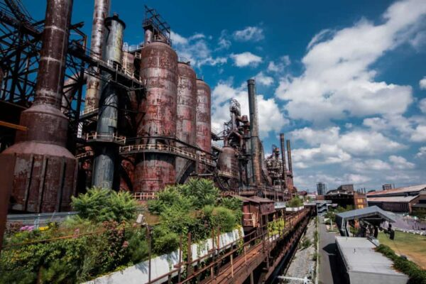 SteelStacks in Bethlehem, Pennsylvnaia