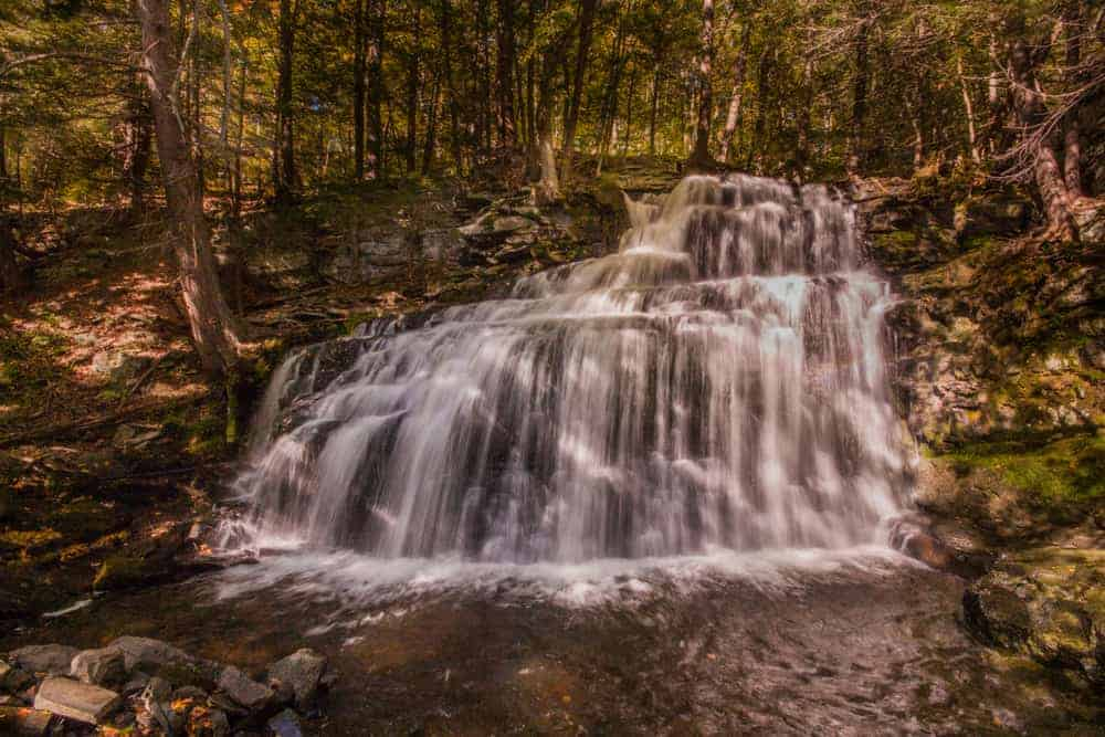 Poconos Waterfalls: Savantine Falls