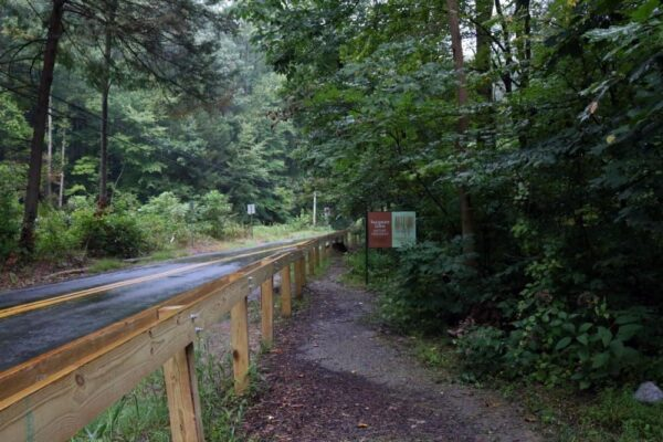 Tucquan Glen Nature Preserve sign