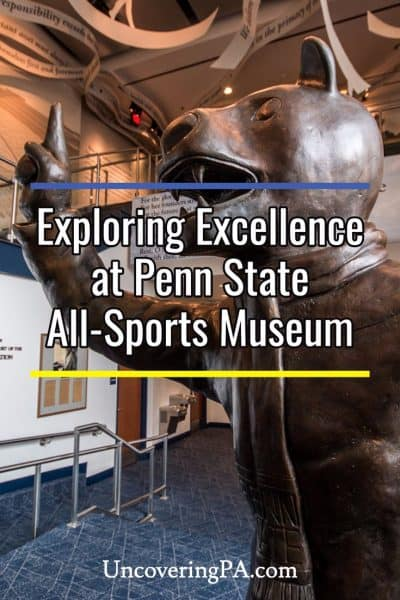 Exploring excellence at Penn State All-Sports Museum in State College, Pennsylvania