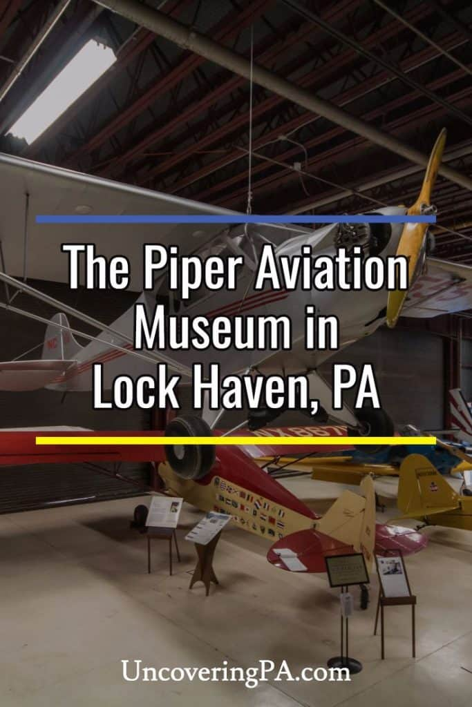 Exploring the Piper Aviation Museum in Lock Haven