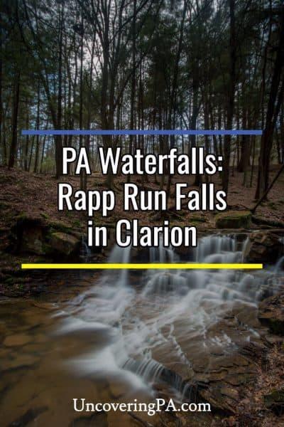 Hiking to Rapp Run Falls in Clarion, Pennsylvania
