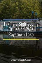 Raystown Lake Sightseeing Cruise