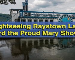Enjoying a Peaceful Sightseeing Cruise on Raystown Lake Aboard the Proud Mary Showboat