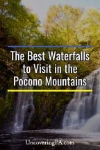 The best waterfalls in the Poconos of Pennsylvania