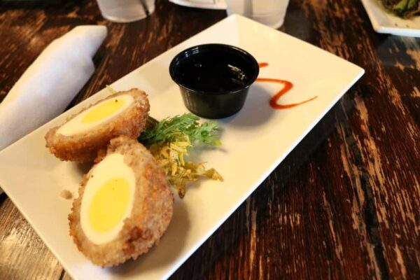General Sutter Inn scotch egg