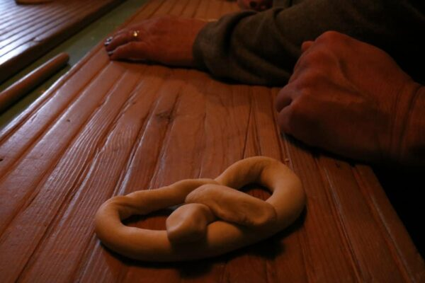 Julius Sturgis pretzel twisting