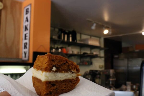 Sugar Whipped Bakery pumpkin whoopie pie