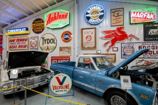 Inside the Eagles Mere Auto Museum in the Endless Mountains of Pennsylvania