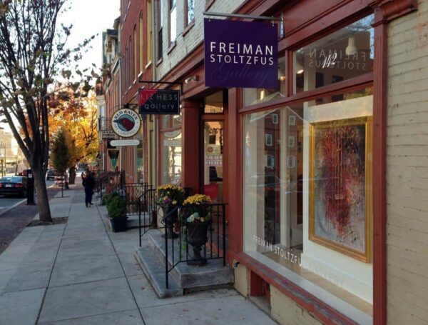 Free things to do in Lancaster, PA: Art Galleries