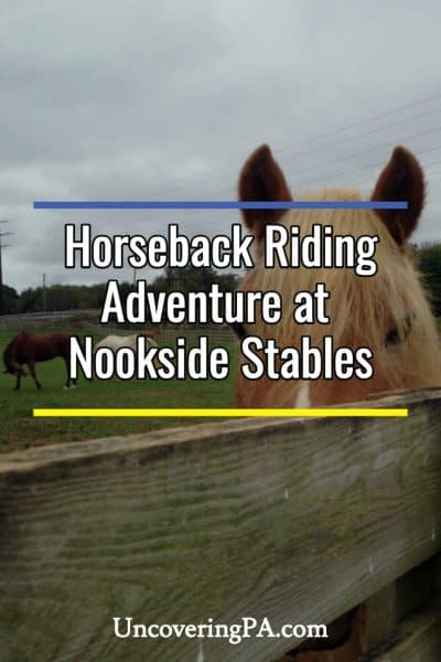 Nookside Stables horseback riding adventure