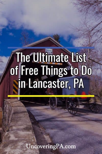 List of free things to do in Lancaster, Pennsylvania