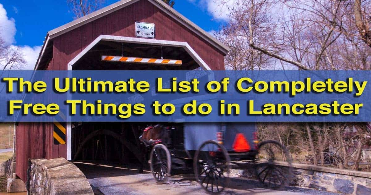 40 free things to do in lancaster pa for Things to do philadelphia pa