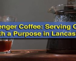Passenger Coffee Serves Coffee with a Purpose in Downtown Lancaster, PA