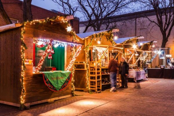 The Christmas markets in Bethlehem, PA