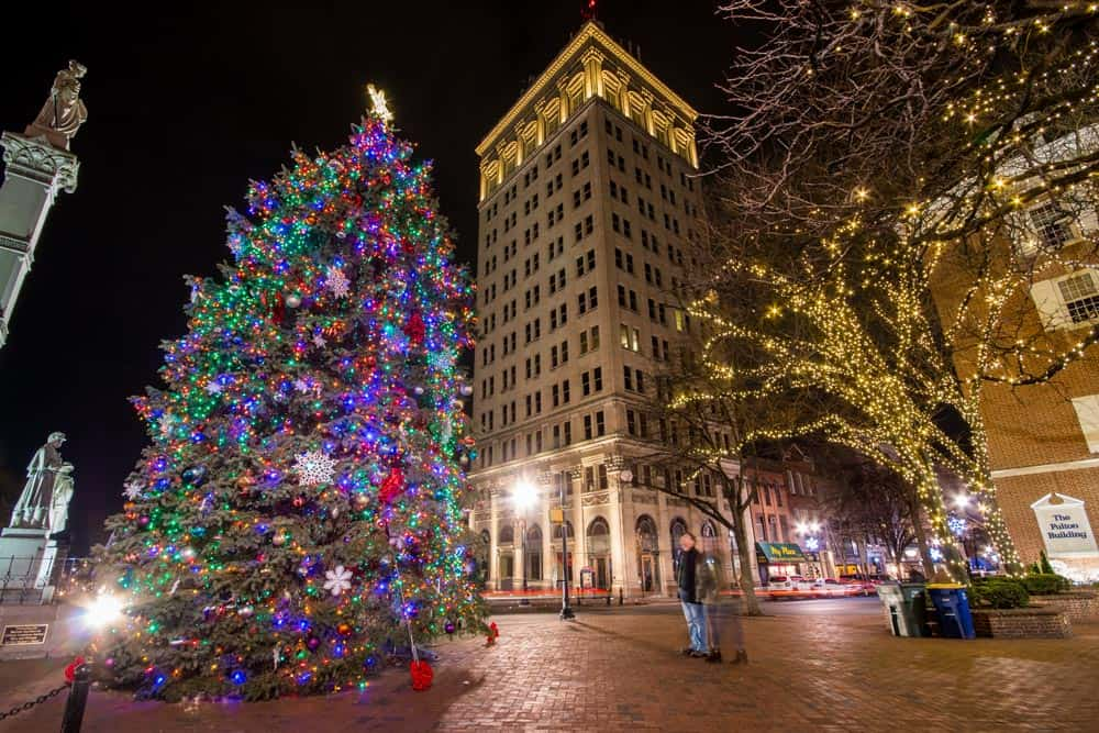 Christmas in Lancaster PA