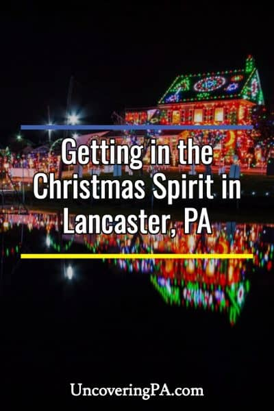 Christmas in Lancaster, PA