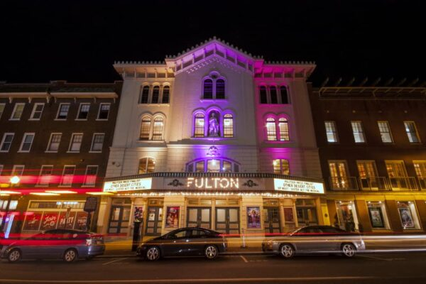Fulton Theatre in downtown Lancaster