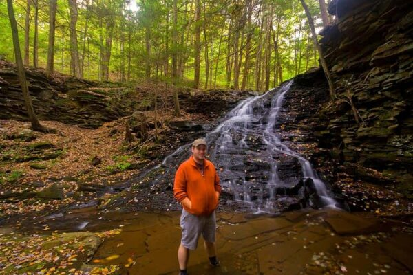 Hiking during hunting season in Pennsylvania