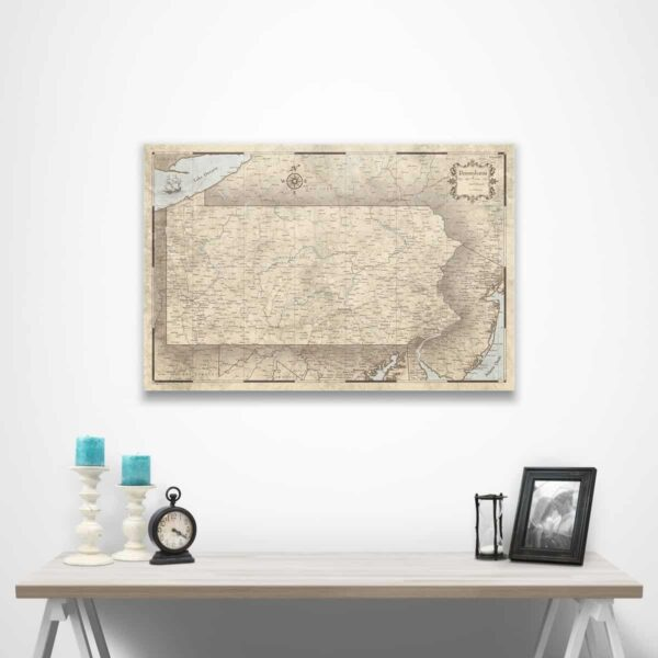 PA Map gift
