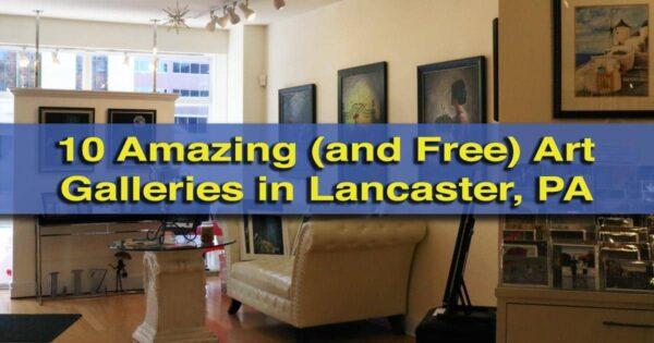 Free art galleries in Lancaster, Pennsylvania