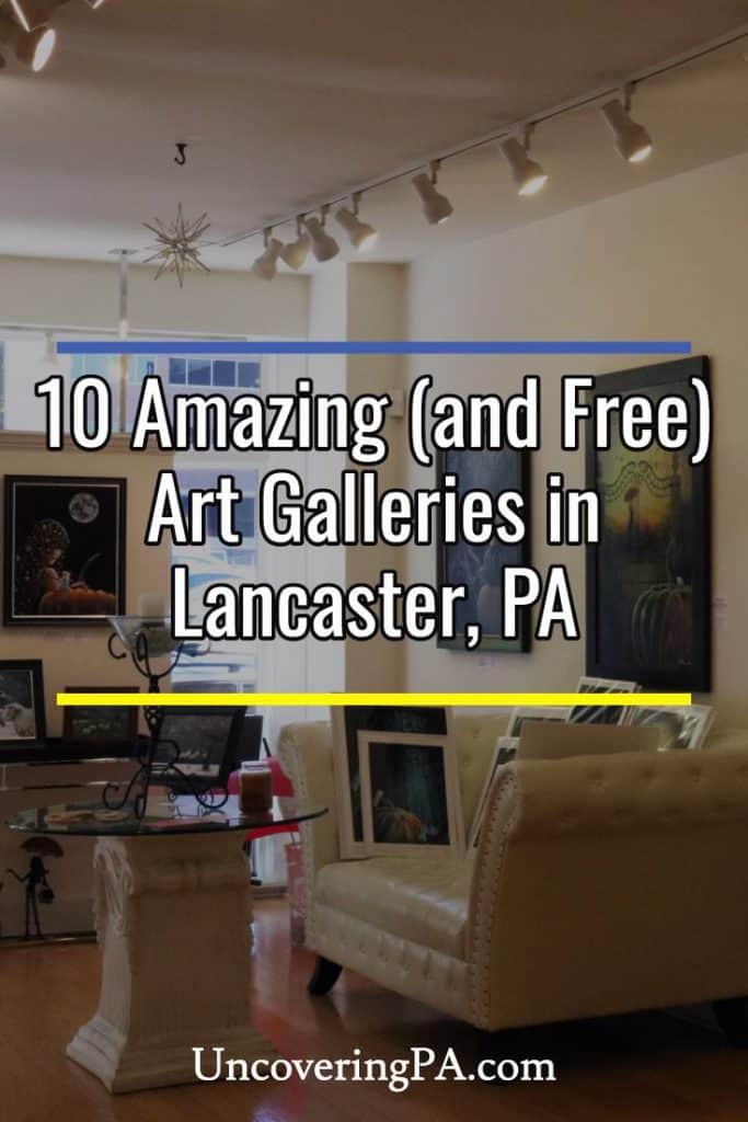 Free art galleries in Lancaster, Pennsylvania