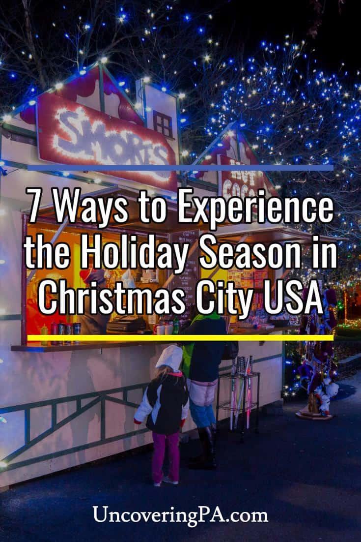 Things to do during Christmas in Bethlehem, Pennsylvania