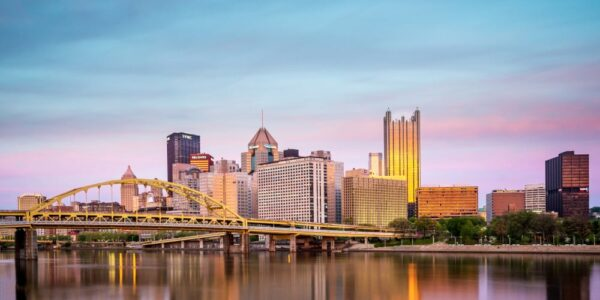 Top Pennsylvania Photos of 2017: Sunset over Pittsburgh