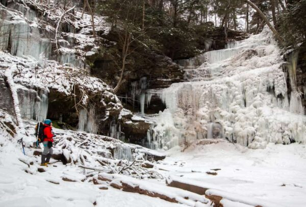 Things to do in PA in February: Frozen Waterfall Workshop