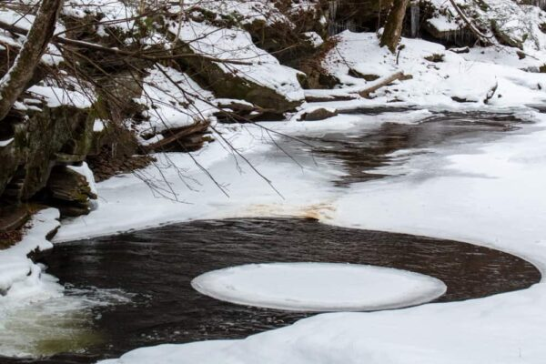 Winter Hiking at Ricketts Glen State Park