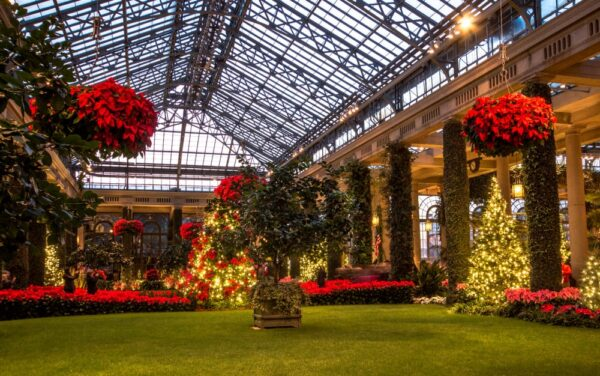 Longwood Gardens Christmas opens in November