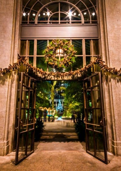 Review of Christmas at Longwood Gardens in Kennett Square, Pennsylvania