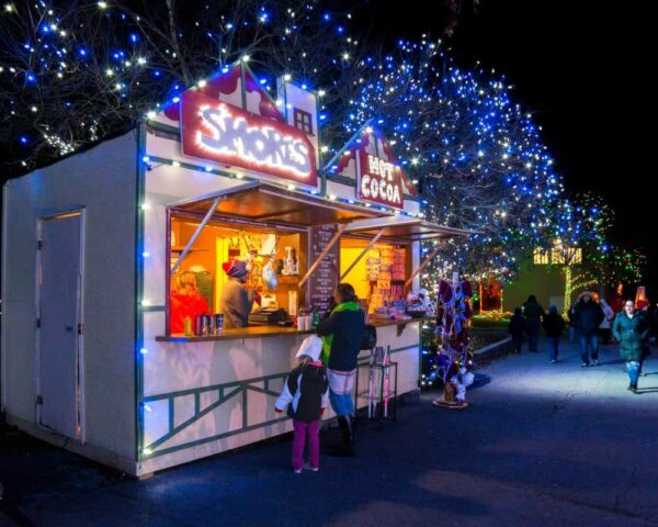 Food and drink at the Winter Light Spectacular at the Lehigh Valley Zoo