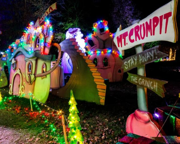 The Grinch at Winter Light Spectacular at the Lehigh Valley Zoo