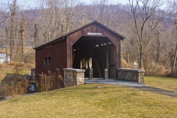 Everhart Covered Bridge in Dauphin County, Pennsylvania