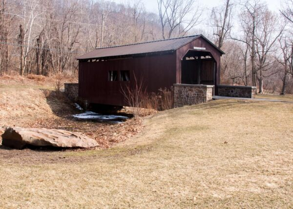 Everhart Covered Bridge in Harrisburg, Pennsylvania