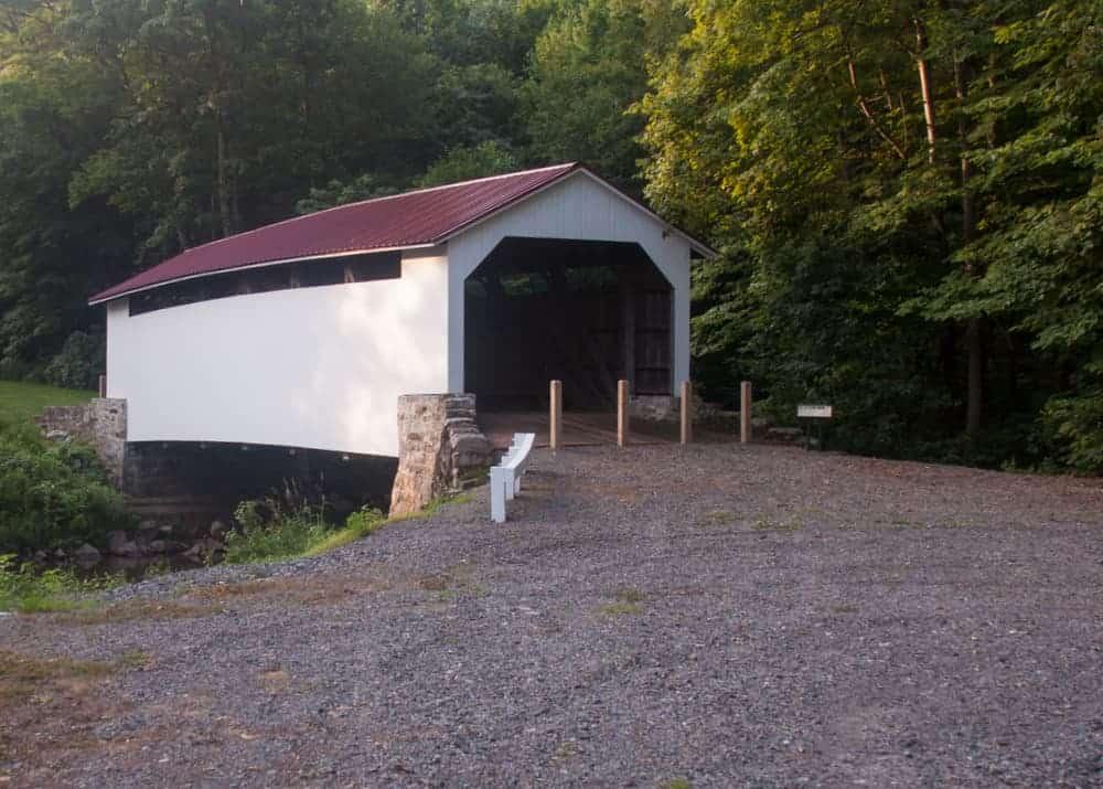 Covered Bridges near Harrisburg, Pennsylvania