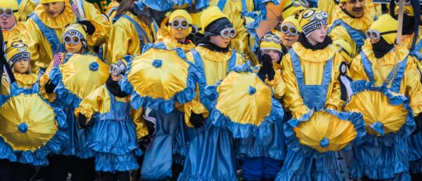 Mummers Parade Controversy: Finnegan Comic Brigade