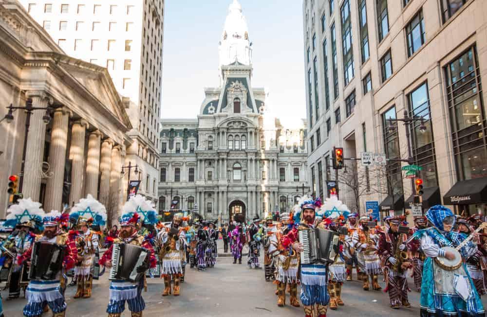Philadelphia mummers