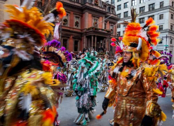 Where to see the Mummers Parade: Broad Street