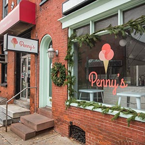 Penny's Ice Cream in Lancaster, PA