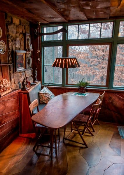 The kitchen at the Wharton Esherick Museum in Chester County, Pennsylvania