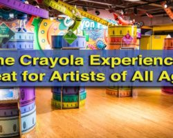 The Crayola Experience in Easton: A Great Destination for Artists of All Ages