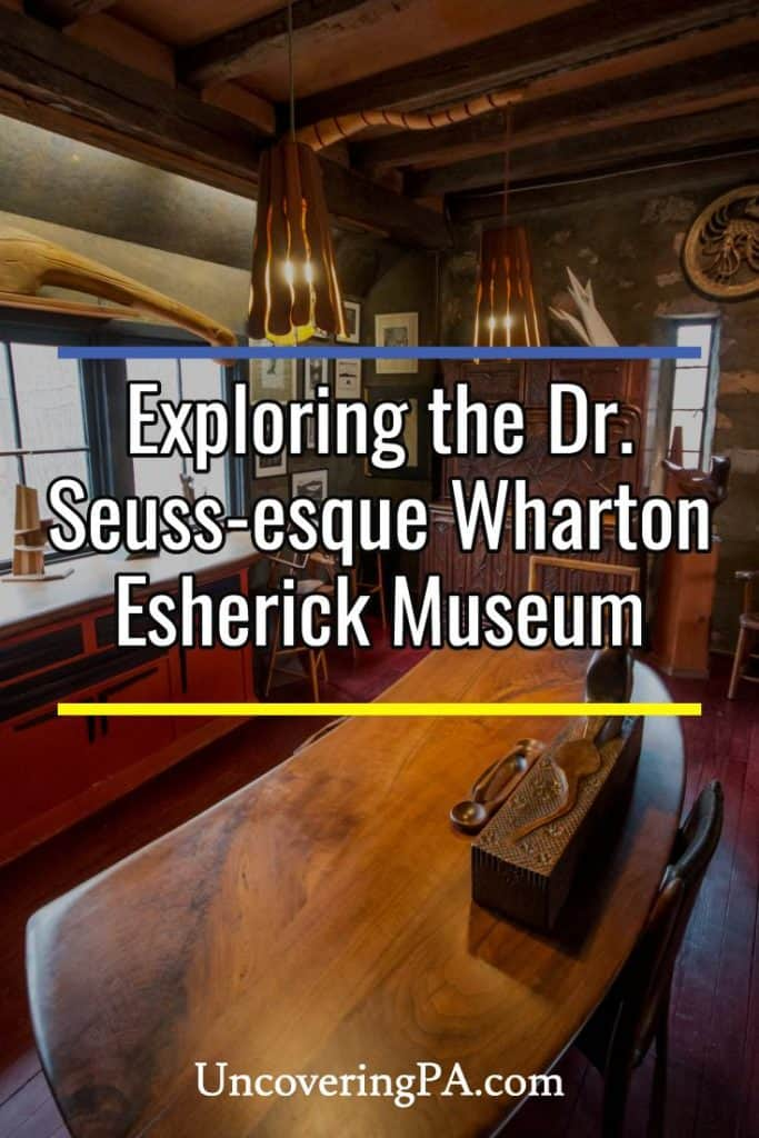 Touring the Wharton Esherick Museum in Malvern Pennsylvania