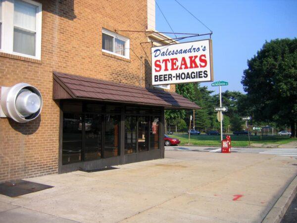Best cheesesteak in North Philadelphia: Dalessandro's