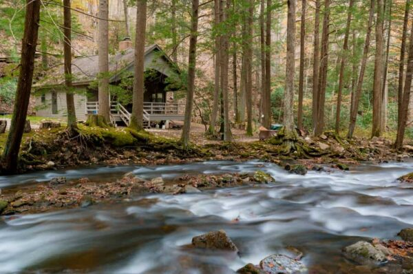 Cabin in Linn Run State Park, Pennsylvania