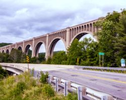 Roadtripping to the Imposing Tunkhannock Viaduct in Nicholson, PA