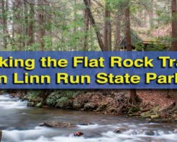 Hiking the Flat Rock Trail in Linn Run State Park
